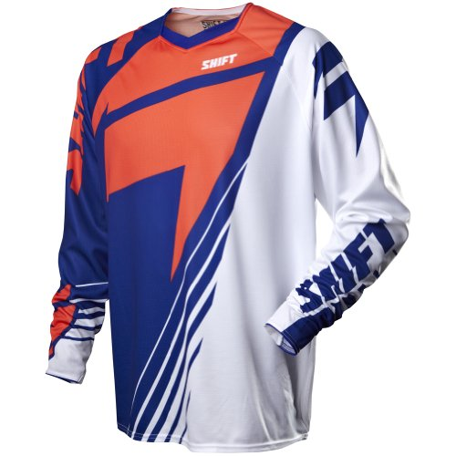 (Shift Racing Reed A1 Faction LE Men's MX Motorcycle Jersey - Blue/Red / Medium )