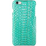 KEBE Python Belly Leather Luxury Case Lightweight Hardshell Back Shockproof Cover Case for IPhone 8 / 7 4.7 Inch