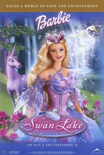Barbie Poster - Barbie of Swan Lake POSTER Movie (27 x 40 Inches - 69cm x 102cm) (2003)