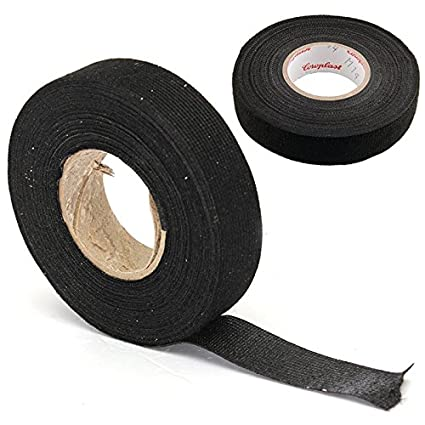 1pc wiring harness tape strong adhesive cloth fabric tape for looms rh amazon com Cloth Wire Loom Wire Loom Tool