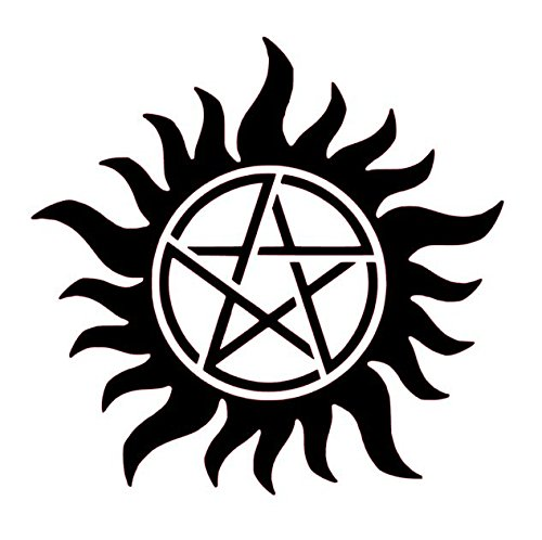 (Supernatural Anti-Possession Vinyl Decal, Winchesters Vinyl Decal, Supernaturals Decal, Supernaturals Bumper Sticker)