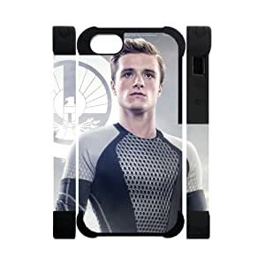 Every New Day The Hunger Games Peeta Mellark Josh Hutcherson Unique Custom iphone 4/4s iphone 4/4s or Best Polymer+ Rubber 3D Cover Case