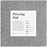 """Kenley Wool Pressing Mat for Quilting - 13.5""""x13.5"""" Wool Ironing Pad for Quilters - Portable Heat Press Iron Craft Mat for Travel or Classes - Accessories & Gifts for Quilting Embroidery Sewing"""