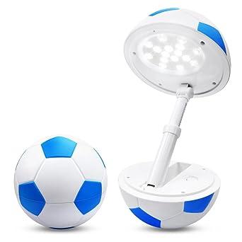 Tischlampe Kinder Tischleuchte Fußball Babynachtlicht Schlafzimmer LED  Nachttischlampe Mädchen/ Jungen Leselampe Dimmbar Für Kinderzimmer.