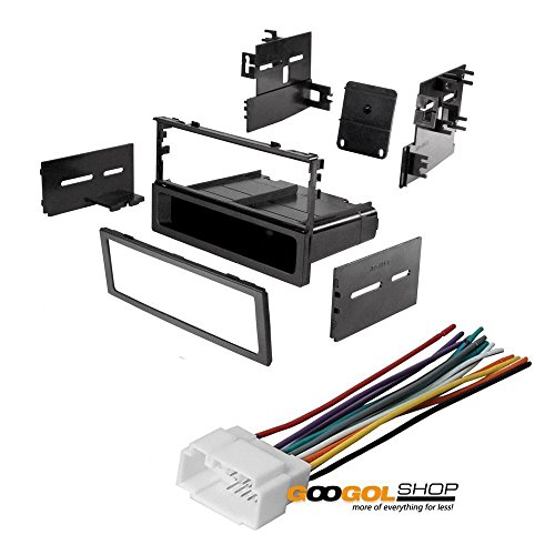 CAR STEREO DASH INSTALL MOUNTING KIT WIRE HARNESS FOR HONDA 1986- 2008 (Quick Install Mounting System)