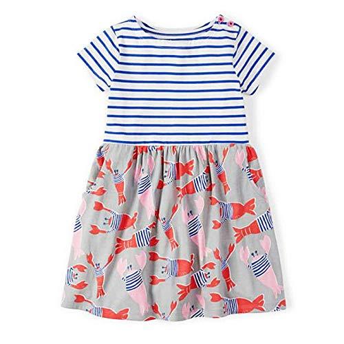 HaHapo Baby Girls Summer Dress 2018 Brand Princess