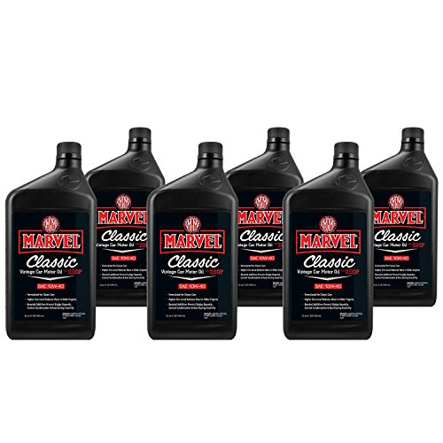 Classic Car Oil - Marvel Mystery Oil 50918 Marvel Classic Vintage Car Motor Oil (6-Pack)