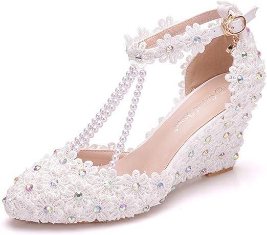 BSWOME Women Platform Wedges Sandals