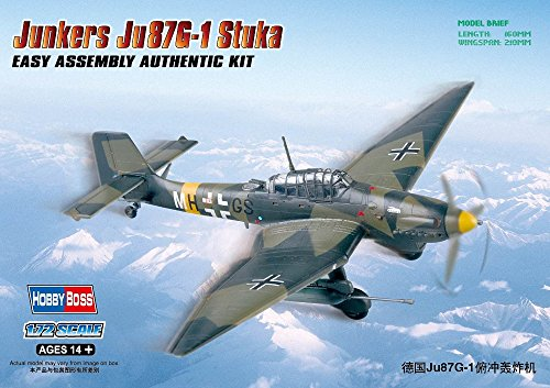Hobby Boss Junkers JU87G-1 Stuka Easy Assembly Kit