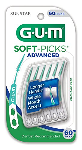 Sunstar 650R GUM Advanced Soft-Picks, 60CT
