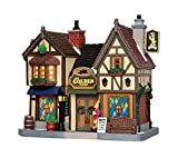 2015 Lemax Christmas Village Porcelain Lighted Building 55019 The Golden Hare Tavern