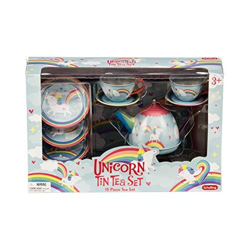Schylling Schylling Unicorn Tin Tea set