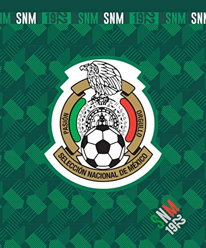 "MISELECCIONMX Mexico National Team Logo Green Sherpa Lining Borrego Flannel Throw Sofa Blanket 50""x60"""
