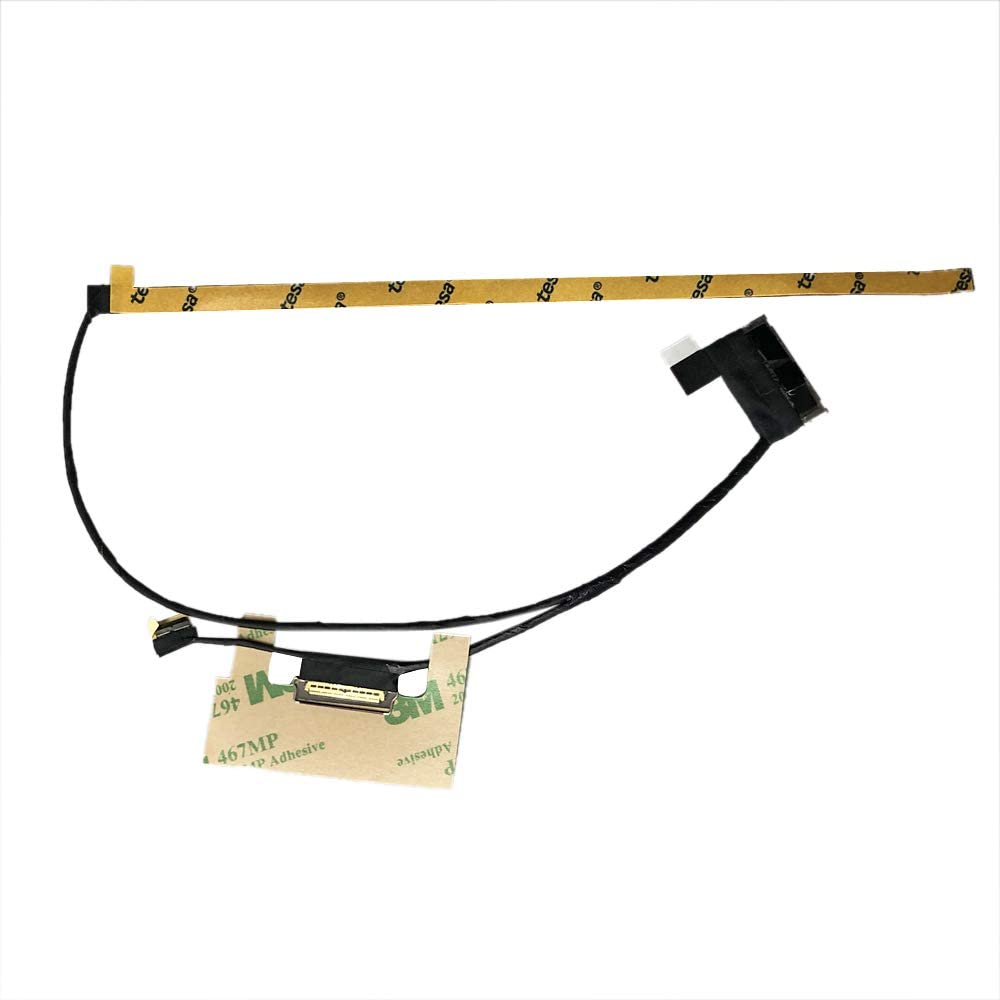 Zahara LCD LED LVDS Screen Video Cable Replacement for Lenovo Yoga 730-13IKB 730-13IS 81CT 5C10Q95923 DC02002Z800 30PIN