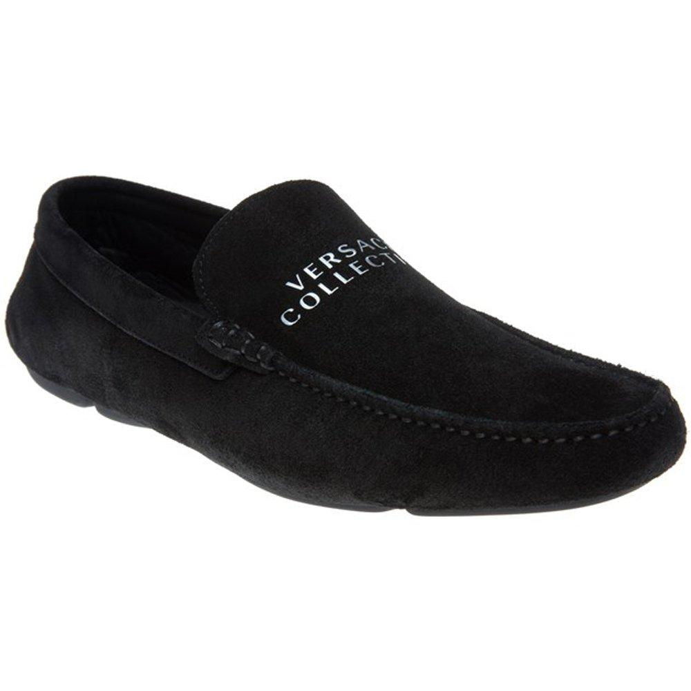 Versace - Mocasines para hombre Negro negro: Amazon.es: Zapatos y complementos