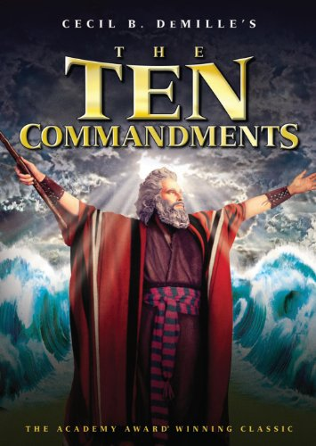 The Ten Commandments by Warner Home Video