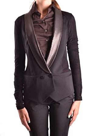2f7f226d80 Image Unavailable. Image not available for. Color: Pinko Women's Mcbi10568  Black Polyester Blazer