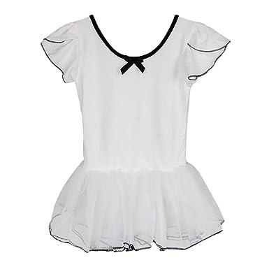 F Fityle Vestido de Baile Traje de Danza de Ballet Falda Tutú de 3 ...