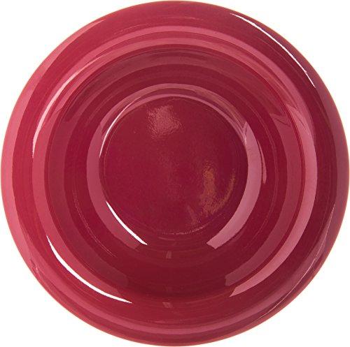 Carlisle 4304258 Durus Rimmed Melamine Fruit Bowl, 4 Oz., Roma Red (Pack of 48) by Carlisle (Image #2)