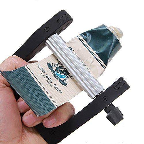 - YDJ Toothpaste Squeezer Hair Color Cream Squeezer / Dispenser, Paste Extrusion Tool for Manual Paint Oil Cosmetics(Black)