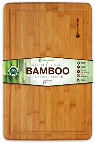 Extra Large Bamboo Cutting Board product image