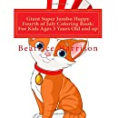 Giant Super Jumbo Happy Fourth Of July Coloring Book For Kids Ages 3 Years Old