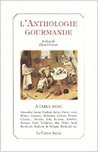 L'anthologie gourmande par Dazin