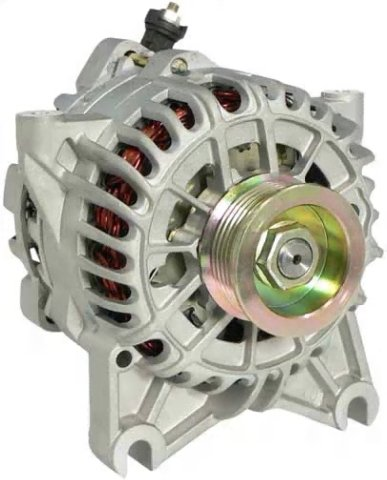 8310 Stereo - Velocity High Output Alternator 8310-220-HD36-3 - 220A High Output Alternator for Ford F-SERIES PICKUPS