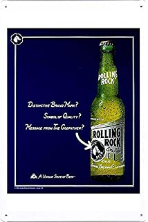 amazon com tin sign metal poster plate 8 x12 of dos equis beer