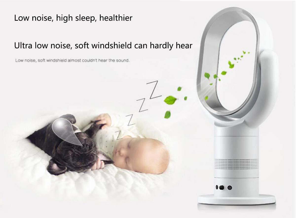 Ventilador de Control Remoto Inteligente para el hogar Aire Fresco,Blue SanQing Ventilador de Torre Ventilador de Piso sin p/áginas