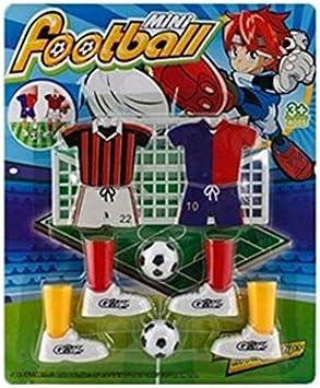 FEKETEUKI Mini Juego de fútbol Juego de Dedos Juego de fútbol Juego de Mesa Divertido con Dos goles-Blanco-1 Tamaño: Amazon.es: Juguetes y juegos