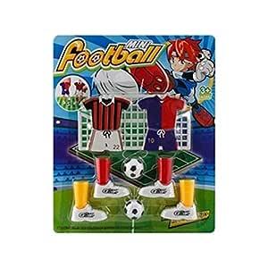 FEKETEUKI Mini Juego de fútbol Juego de Dedos Juego de fútbol ...
