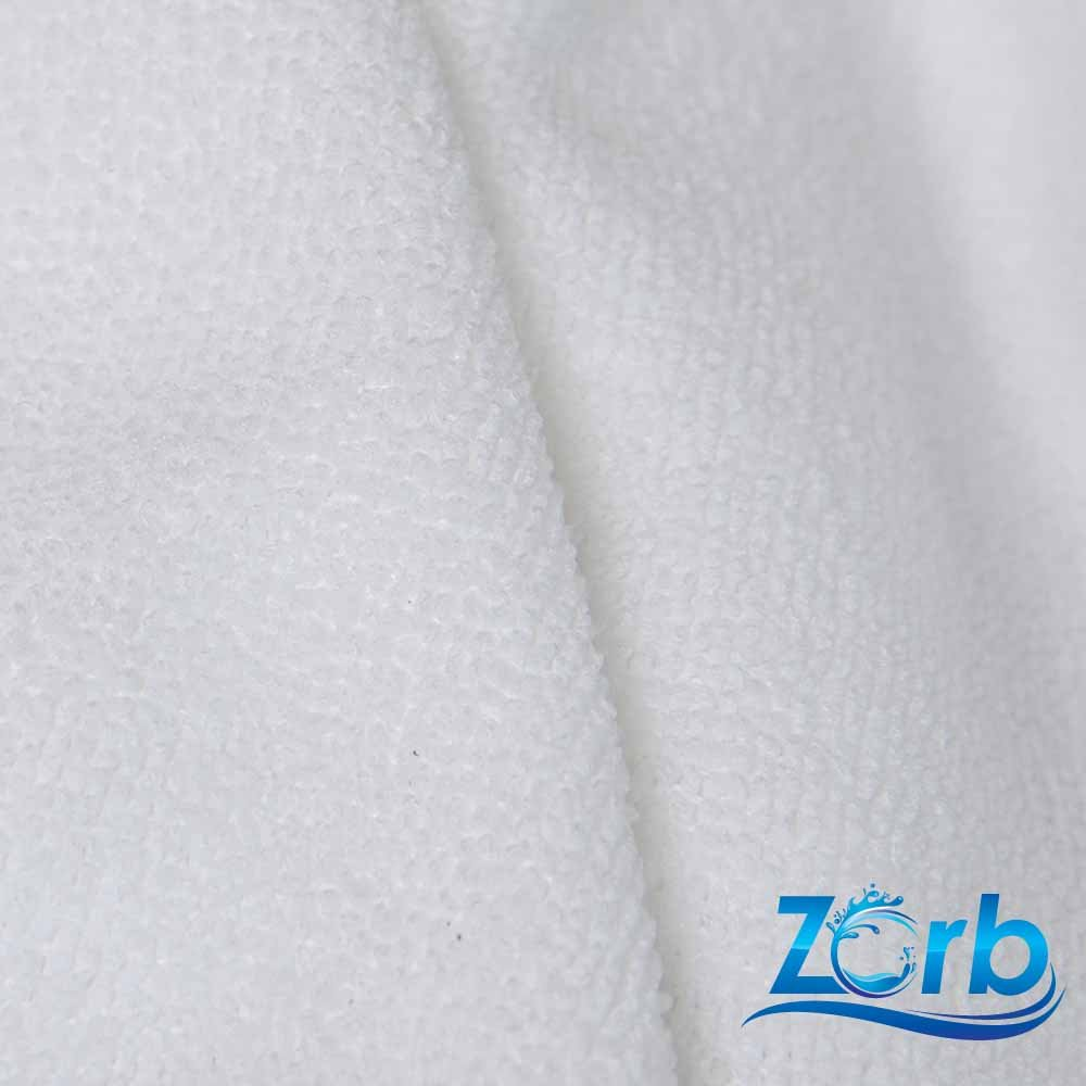 Microfiber Terry Plus Super Absorbent Soaker Fabric (Made in USA, White, sold by the yard) by Zorb   B00B6L64Y8