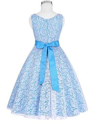 Wedding Flower Girl Dresses Prom Kids Dresses(8-9yrs) CL8938-5