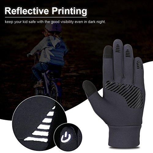 Enfant Hiver Gant Avec Vbiger Anti Écran Tactile Chaud Fonction Sport dérapant AEqxdw