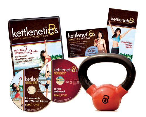 Gaiam Kettlenetics Slim and Tone Kit