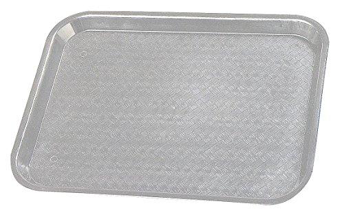 18' Rectangular Tray (Cafe Tray, Rectangular, 18'' X 14'', Polypropylene, Nsf, Grey)