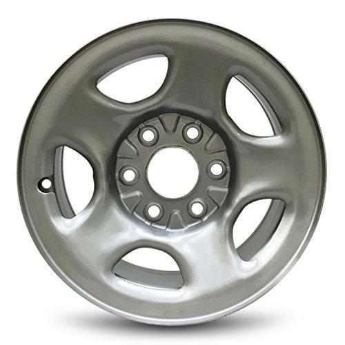 Express Sierra Silverado Suburban Tahoe 16'' 6 Lug Steel Wheel/16x6.5 Steel Rim by Road Ready Wheels