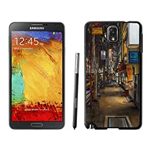 NEW Unique Custom Designed Samsung Galaxy Note 3 N900A N900V N900P N900T Phone Case With Urban drawing_Black Phone Case