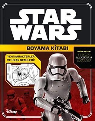 Starwars Boyama Kitabi Yeni Karakterler Ve Uzay Gemileri
