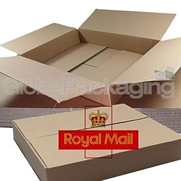 50 x Tamaño máximo pequeño paquete Postal correo real caja 449 x 349 x 79 mm: Amazon.es: Oficina y papelería