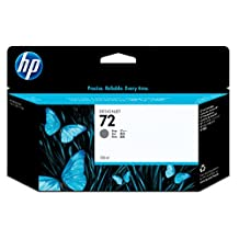 HP 72 Gray Ink Cartridge -Gray -Inkjet -1 Each