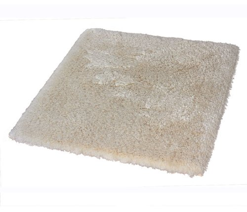 Kleine Wolke Eco Living Bamboo Cotton Bathroom Rug (21.7 X 25.6 in - Natural) by Kleine Wolke