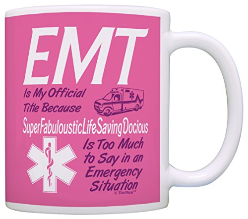 Emergency Technician Official Pretentious Coffee