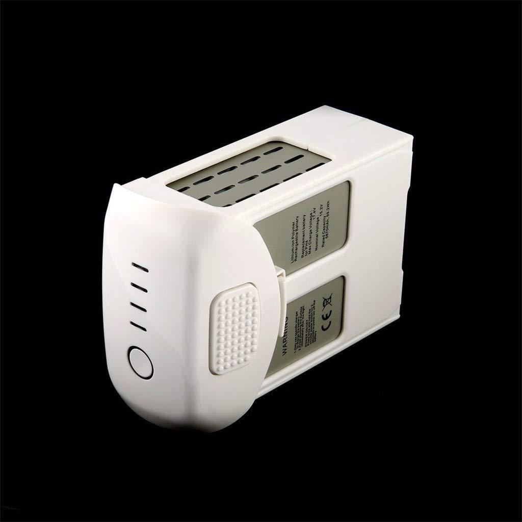 Intelligent Flight Lipo Battery 5870mAh 15.2V for DJI Phantom 4 Series Quality Assurance (White) by Aurorax Electric (Image #8)