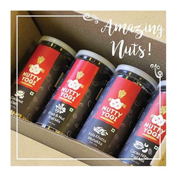 Nutty Yogi Nuts Hamperbox ,Gift Box