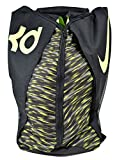 Nike KD Max Air VIII Basketball Backpack Black/Tumbeled Grey/Volt