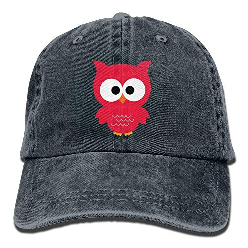 Sport Cowgirl Cowboy Red for Hat Owl Denim Skull Hats Women Men Cap wx407nqTSB