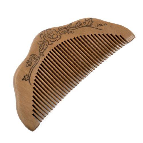 Half Moon Shaped Зубчатый Здоровый Уход за волосами сандалового дерева Comb