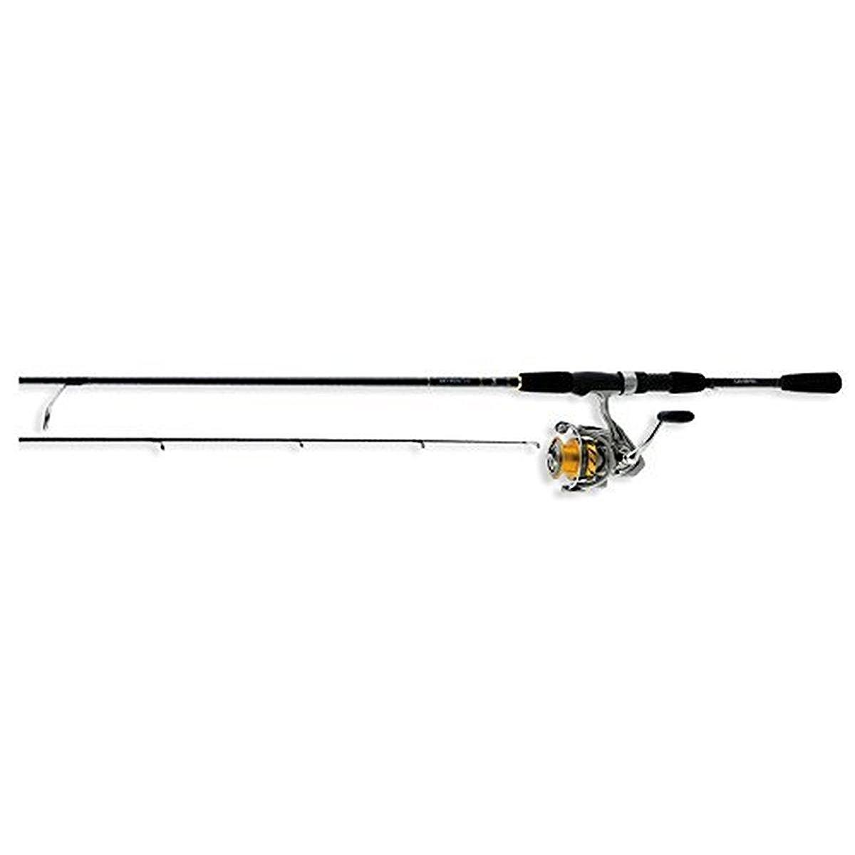 Daiwa REV25-4BI G662ML Revros Freshwater Spinning Combo, 4Rb 1Rb Bearings, 6 6 Length, 2Piece Rod, Medium Light Power